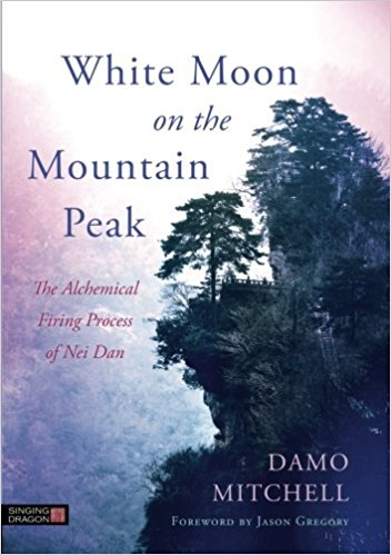 Book Cover: White Moon on the Mountain Peak