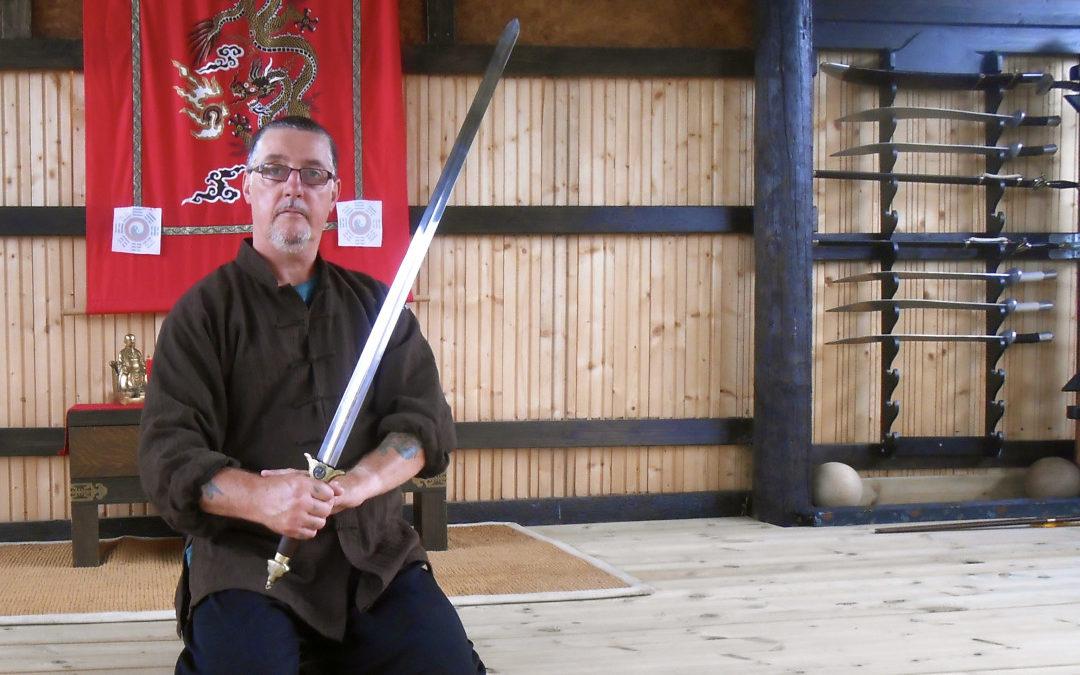Paul with Taiji Sword