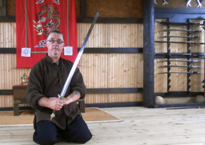Paul with Taiji Sword