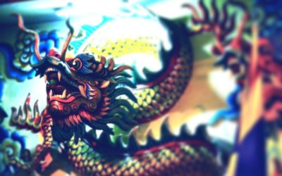 Fire, Water, Dragon and Tiger