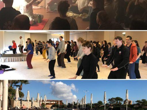 Damo Teaching in the Algarve