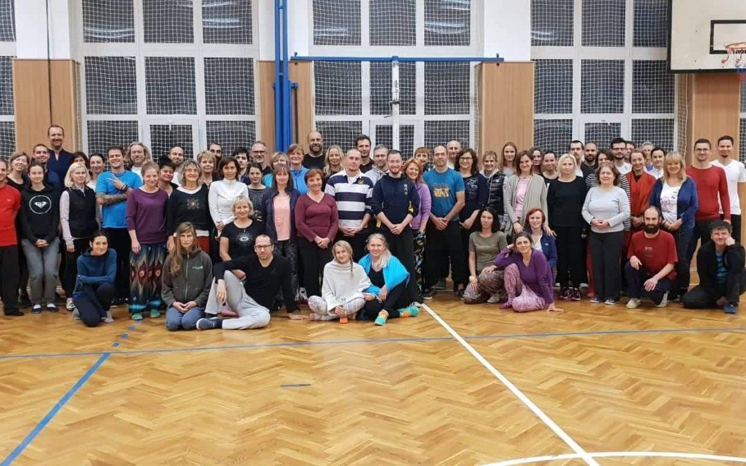 Prague Nei Gong School with Damo