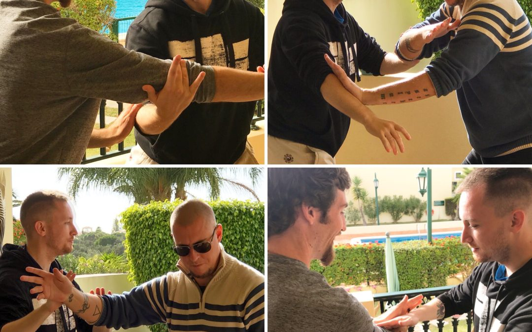 Pushing Hands in Algarve