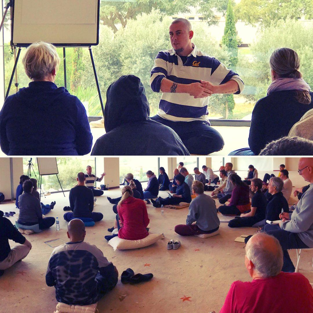 Teaching Nei Gong in the Algarve