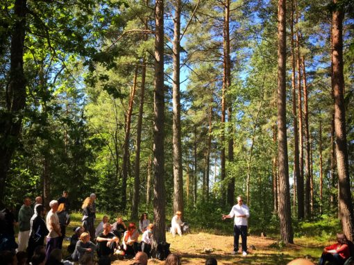 Teaching Among the Trees